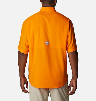 Men's Collegiate PFG Tamiami™ Short Sleeve Shirt - Tennessee CLG Tamiami™ Short Sleeve Shirt | 839 | XL, UT - Solarize, back