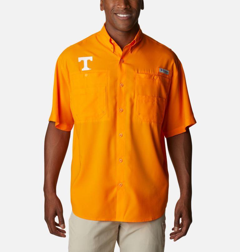 Men's Collegiate PFG Tamiami™ Short Sleeve Shirt - Tennessee Men's Collegiate PFG Tamiami™ Short Sleeve Shirt - Tennessee, front