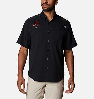 Men's Collegiate PFG Tamiami™ Short Sleeve Shirt - Alabama CLG Tamiami™ Short Sleeve Shirt | 110 | L, ALA - Black, front