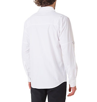 Men's Silver Ridge™ II Long Sleeve Shirt Silver Ridge™ II  Long Sleeve  | 100 | S, White, back