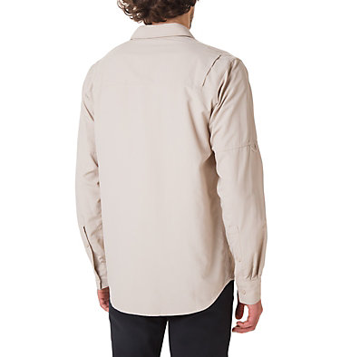 Men's Silver Ridge™ II Long Sleeve Shirt Silver Ridge™ II  Long Sleeve  | 160 | S, Fossil, back