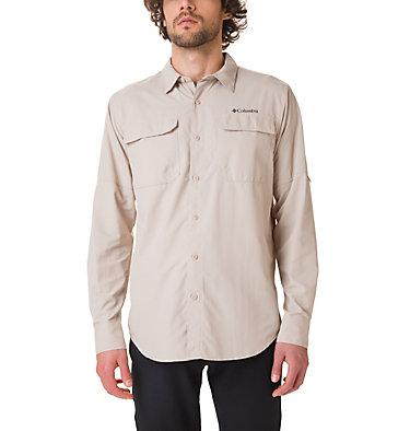Men's Silver Ridge™ II Long Sleeve Shirt Silver Ridge™ II  Long Sleeve  | 028 | S, Fossil, front