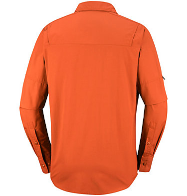 Men's Silver Ridge™ II Long Sleeve Shirt Silver Ridge™ II  Long Sleeve  | 100 | S, Desert Sun, back