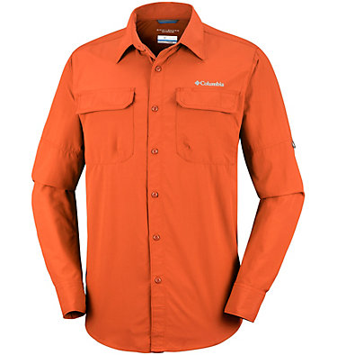 Men's Silver Ridge™ II Long Sleeve Shirt Silver Ridge™ II  Long Sleeve  | 100 | S, Desert Sun, front