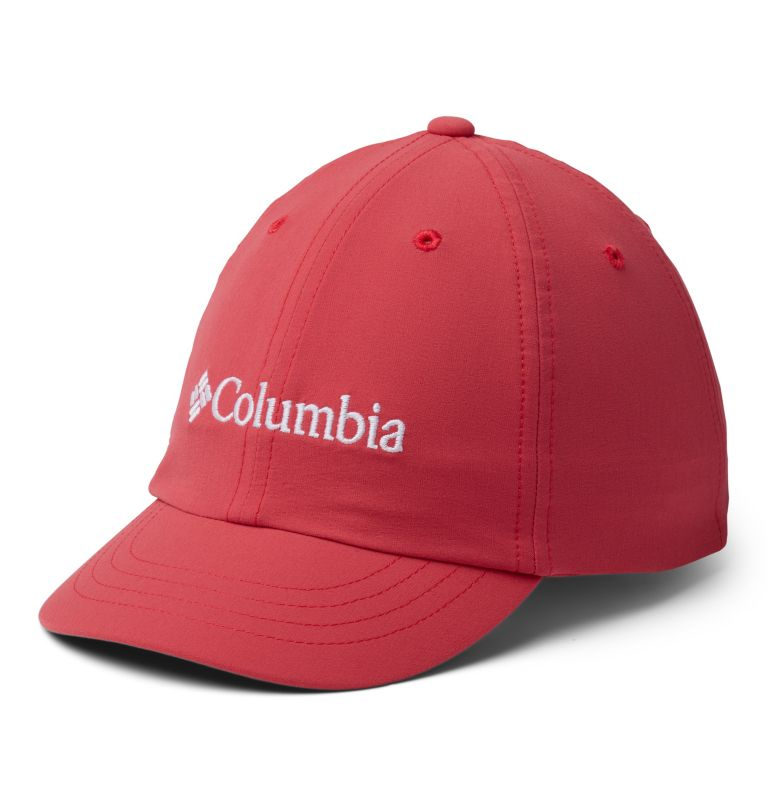 Youth Adjustable Ball Cap | 634 | O/S Gorra ajustable para niños, Rouge Pink, front