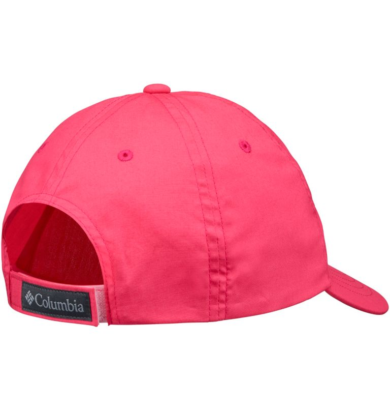 Youth Adjustable Ball Cap | 673 | O/S Casquette réglable Junior, Bright Geranium, back