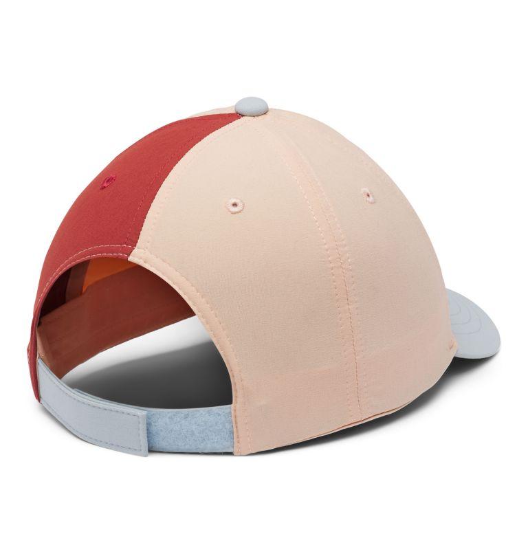 Youth Adjustable Ball Cap | 870 | O/S Kids' Adjustable Ball Cap, Peach Cloud, Cirrus Grey, Dusty Crimson, back
