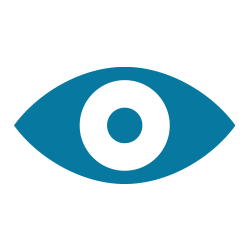 Icon of a blue eye