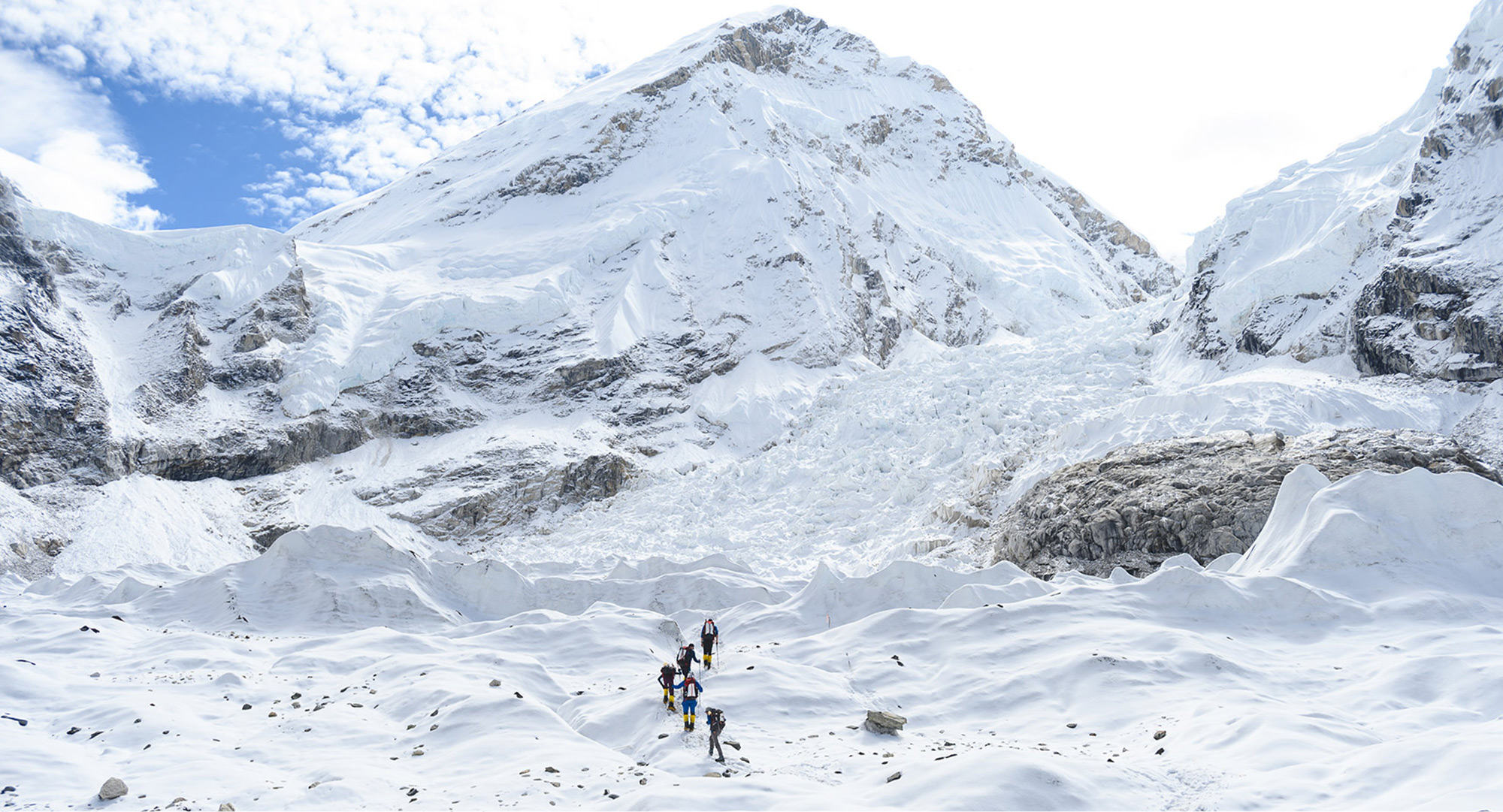 Everest Base Camp - into the Icefall