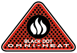Omni-Heat Black Dot logo